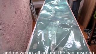 Phil Lardner's Carbon Dragon Project - 0 - Setting up parts for Vacuum Assisted Resin Infusion.wmv