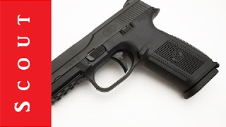 getlinkyoutube.com-FN FNS-9 Long Slide 9mm Pistol Review - Scout Tactical