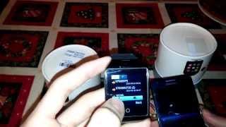 getlinkyoutube.com-Q18 Smart watch phone
