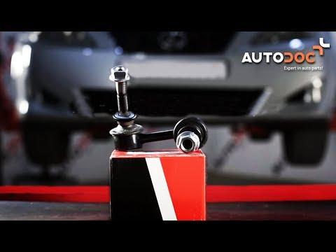 ... pakeisti priekine stabilizatoriaus trauke LEXUS IS 2 PAMOKA | AUTODOC