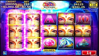 EXOTIC PRINCESS BIG WINS w/ STICKY WILDS INCREDIBLE SLOT MACHINE BONUS