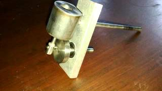 "Homemade oscillating steam engine ""part 1"""