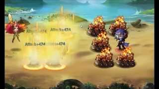 getlinkyoutube.com-League of Angels-Fire Raiders: 2 fights wharf boss full time out of 3