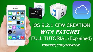 getlinkyoutube.com-iOS 9.2.1 - How to create Custom Firmware (CFW) with patches [Full Tutorial] for iCloud Bypass