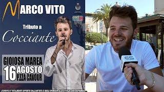Marco Vito in concerto il 16 agosto a Gioiosa Marea - www.canalesicilia.it