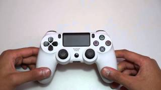 getlinkyoutube.com-Fake DualShock 4 Review VS Real - Comparison