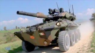 getlinkyoutube.com-CIO - Centauro II 120/105 MGS 8X8 Armoured Vehicle [480p]