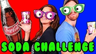 getlinkyoutube.com-SODA CHALLENGE! Blindfolded Play Doh Googly Eyes - 11 Flavors in Surprise Cups