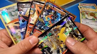 getlinkyoutube.com-THE BEST PIKACHU EX BOX & VICTINI BOX OPENING EVER!!! MEGA CHARIZARD PULL! POKEMON UNWRAPPED