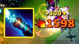 JINX W CAN CRIT?! 1500+ Hits! BROKEN?!