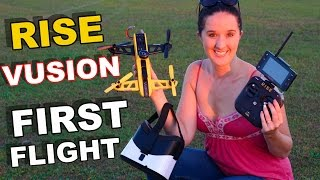 getlinkyoutube.com-RISE Vusion 250 Race Drone First Flight Tips for Beginners - TheRcSaylors