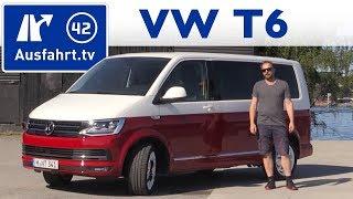 getlinkyoutube.com-2015 Volkswagen Multivan Generation6 T6  - Fahrbericht der Probefahrt, Test, Review (German)