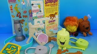 getlinkyoutube.com-2013 SCOOBY-DOO MYSTERY OF THE GHOST TOT SET OF 10 SONIC DRIVE-IN KIDS TOYS VIDEO REVIEW