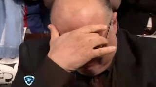 Showmatch 2014 - EMOCIÓN: A pura lágrima, Larry de Clay se emocionó con su hijo