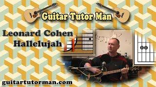 Hallelujah - Leonard Cohen / Jeff Buckley - Guitar Lesson