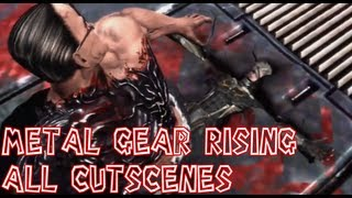 getlinkyoutube.com-Metal Gear Rising Revengeance All Cutscenes Complete Movie【HD】