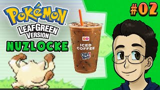 LIMITED TIME ICED COFFEES | Pokemon LeafGreen Nuzlocke, Part 2 - BGPR!