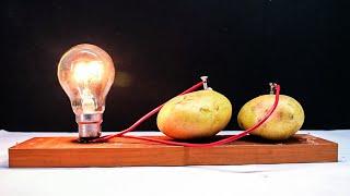 Free Energy Light Bulbs 220v using Potato(read description) width=