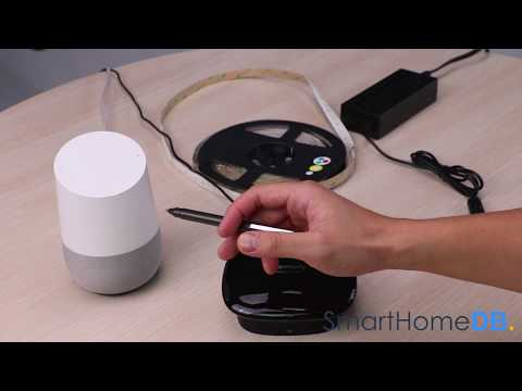 HOW-TO: Pair and Connect your Google Home with an Aeotec LED Strip via a Logitech Harmony Hub