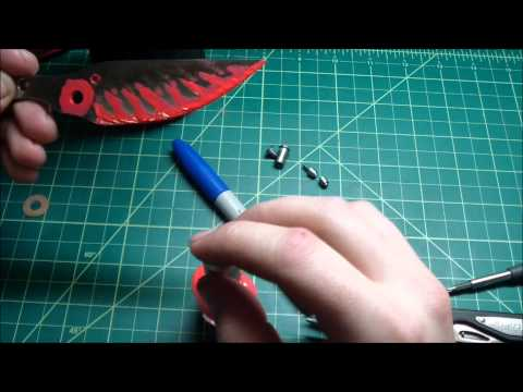 Acid Etching the Knife Blade Tutorial