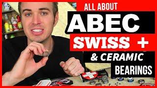 getlinkyoutube.com-ABEC, Swiss, Ceramic, Skateboard & Longboard Bearings
