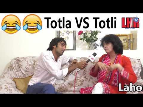 Lahore TV's Totla Reporter vs Totli