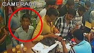 getlinkyoutube.com-Chor / Pocket Maar In Ludhiana | Chori Caught On CCTV