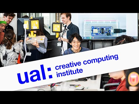 Introduction to UAL's Creative Computing Institute (2020)