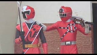 getlinkyoutube.com-Shuriken Sentai Ninningerニンニンジャーvsトッキュウジャースペシャルショー