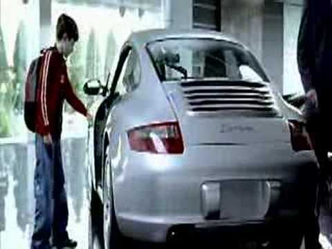 Porsche commercial