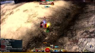 getlinkyoutube.com-Guild Wars 2 Thief WvW PvP (Yishis) Outnumbered 5 - Dagger/Pistol