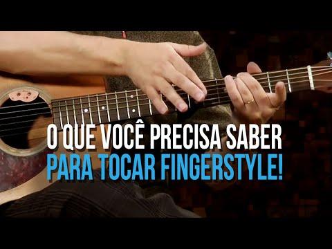 T�CNICAS PRIMORDIAIS PARA INICIANTES NO FINGERSTYLE (aula de viol�o)