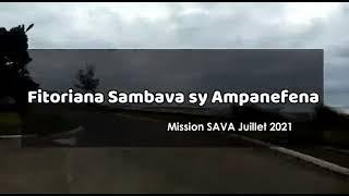 Akon'ny fitoriana Sambava sy Ampanefena ny 24, 27 sy 28 juillet 2021