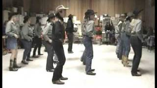 getlinkyoutube.com-Country Line Dance - Copperhead Road - Steve Earl