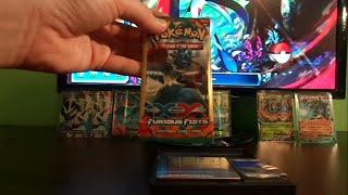 getlinkyoutube.com-Weighing 31 Pokemon Furious Fists Dollar Tree  Packs