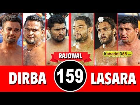 Lasara Vs Dirba  Best Match in Rajewal (Ludhiana) By Kabaddi365.com