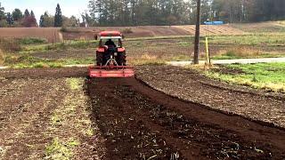 getlinkyoutube.com-初作業!人生初の大型トラクター耕起