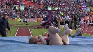 getlinkyoutube.com-Pole vault women European Athletics Team Championships Gateshead 2013