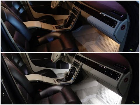Апгрейд интерьера на светодиоды в Volvo