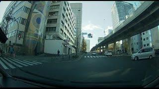 getlinkyoutube.com-覆面パトカー(NOAH)の緊急走行!あわや軽自動車と衝突事故寸前の瞬間&パトライトが気になる私服刑事さん!ドライブレコーダー