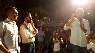 Alessandro Di Battista - Luigi Di Maio da Marina di Ragusa #aTuttaSicilia