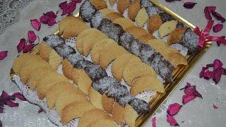 getlinkyoutube.com-حلويات مغربية : حلوة الهلال بالكوك  بمذاق رائع