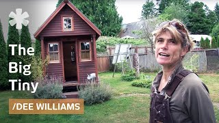 getlinkyoutube.com-Micro-homesteading in WA with 10K microhome (84 sq ft) in friends' yard