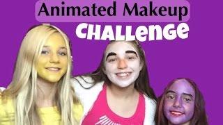 getlinkyoutube.com-Animated Makeup Challenge!