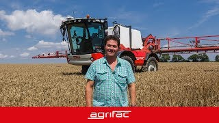 Agrifac Condor - user experience - Bayly (United Kingdom)