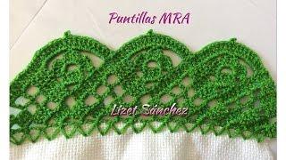getlinkyoutube.com-Puntilla para servilleta MRA Lizet Sanchez 5 1/2