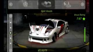 Need For speed Underground 2 Toyota Celica Tuning