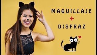 getlinkyoutube.com-Maquillaje de Gata + Disfraz   Mara ❤️