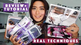 getlinkyoutube.com-Review 5 Brush Set Real Techniques dan Tutorial Menggunakan Brush Make Up