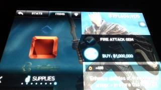 getlinkyoutube.com-Infinity Blade 2: NEW! Money glitch 2013